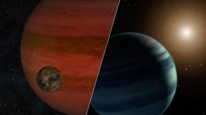 """Los investigadores han detectado el primer candidato a """"exoluna"""" – una luna orbitando un planeta que se encuentra fuera de nuestro sistema solar.  Crédito: NASA/ JPL- Caltech"""