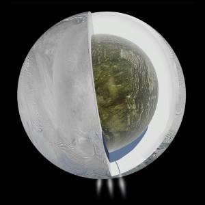 Interior de Encélado