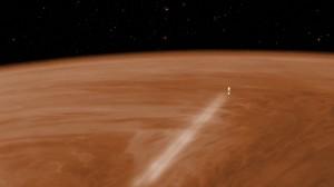 Aero-frenado de Venus Express