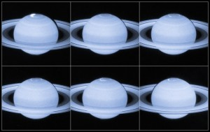 Auroras en Saturno