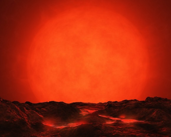 Planeta en Betelgeuse
