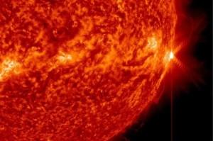 Erupción solar Crédito: Solar Dynamics Observatory/ NASA