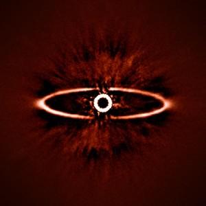 Anillo polvo de estrella HR 4796A