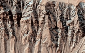 Barrancos en Marte
