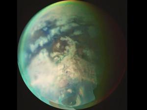 Representación artística de Titán.