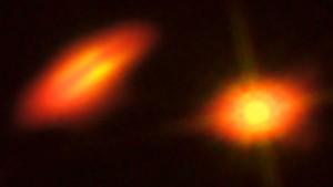Discos protoplanetarios de HK Tauri