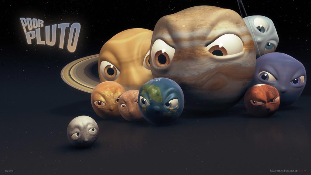 Exclusión de Plutón