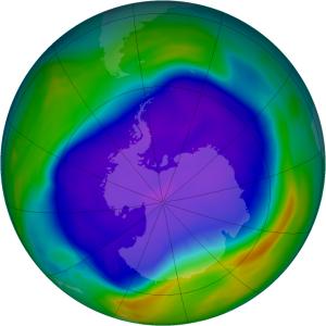 Agujero capa de ozono
