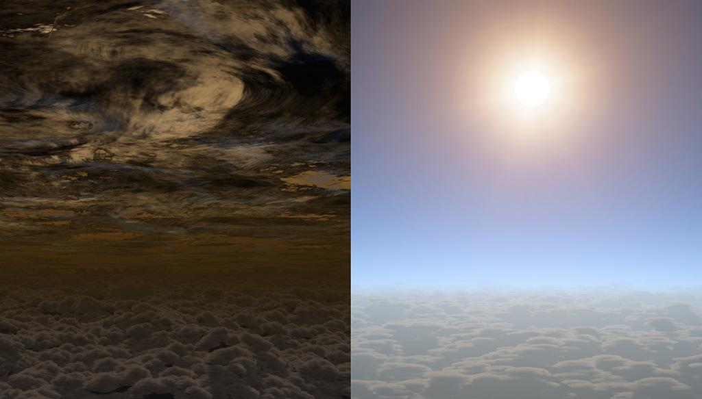 Cielo claro en exoplaneta HAT-P-11b