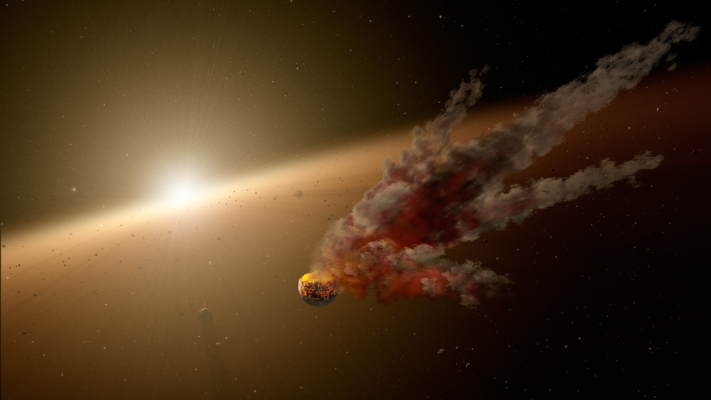 Erupción en estrella NGC 2547-ID8