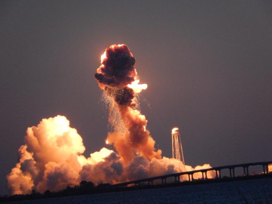 Explosión Antares