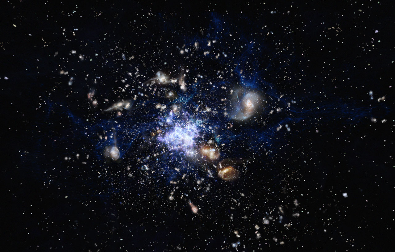 Resultado de imagen de El Hubble capta las primeras galaxias