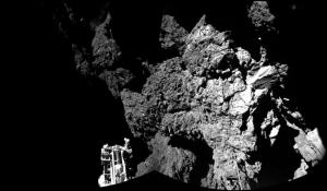 Superficie cometa 67P/Churyumov-Gerasimenko