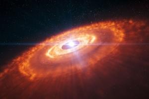 Disco protoplanetario de HL Tauri