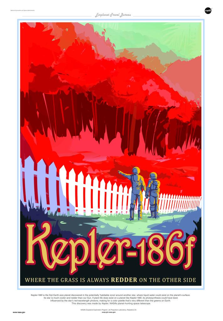 Póster Kepler-186f