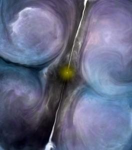 Zona central de NGC 1266