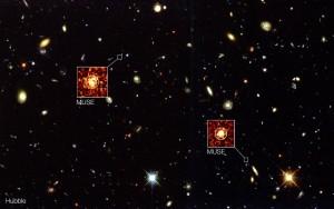 Galaxias detectadas por MUSE