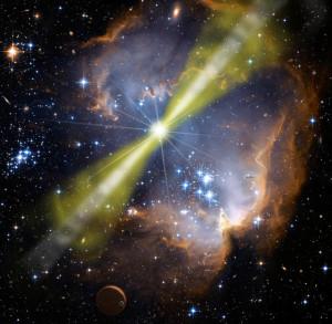 Estallido de rayos gamma GRB 080319B