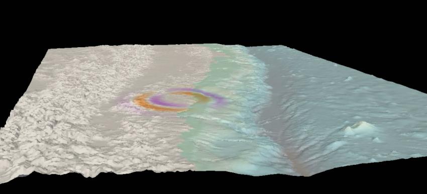 Ondas sísmicas, Chile 2010