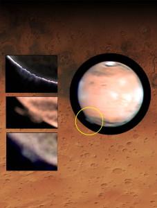 Penacho en Marte, 2012