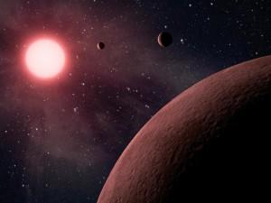 Enana M y planeta