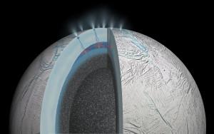 Actividad hidrotermal en Encélado