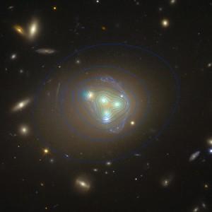 Materia oscura en Abell 3827