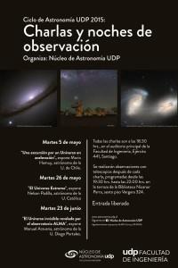 Primer ciclo de charlas y observaciones astronómicas UDP 2015