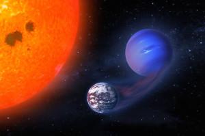 Transformación de mini-Neptuno en planeta habitable