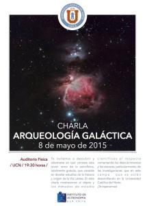 """Charla """"Arqueología galáctica"""""""