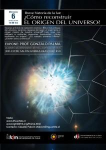 """Charla """"Breve Historia de la Luz: Cómo reconstruir el origen del Universo"""""""