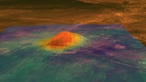 Pico volcánico Idunn Mons