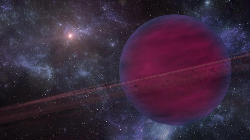 Exoplaneta gigante VHS 1256b