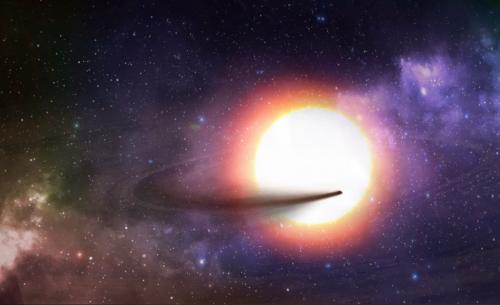 Desintegración exoplaneta KIC 1255 b
