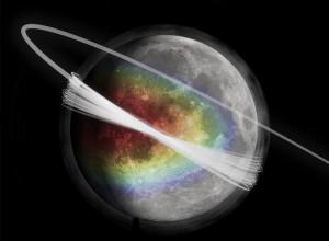 Nube de polvo en la Luna