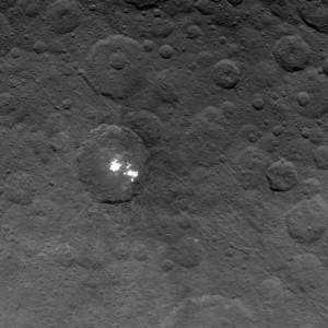 Puntos brillantes de Ceres