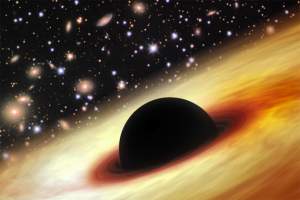 Quásar con un agujero negro supermasivo
