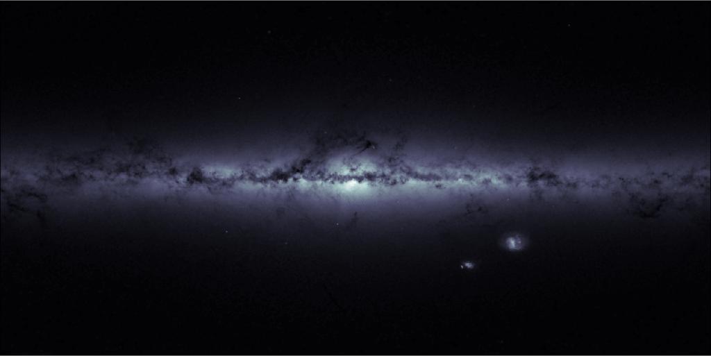 Densidad estelar de la Vía Láctea