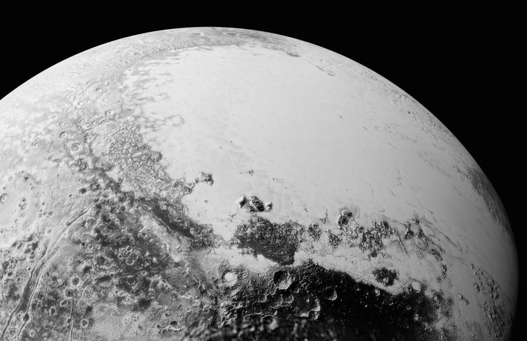 Mosaico de Plutón