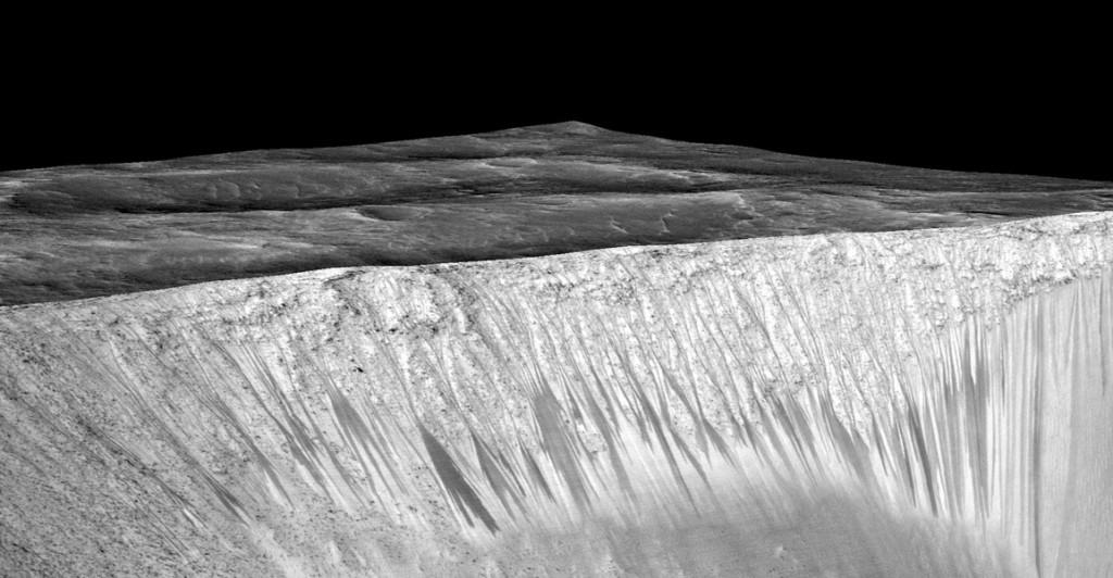 RSL en cráter Garni