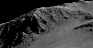 RSL en cráter Horowitz
