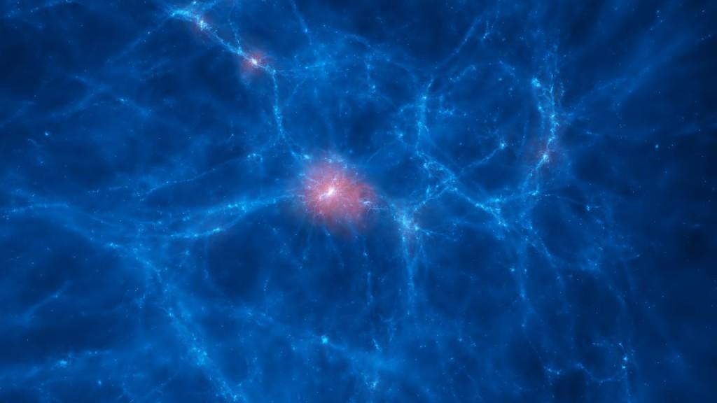 Galaxia y red cósmica