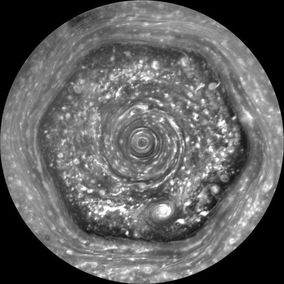 Hexágono de Saturno