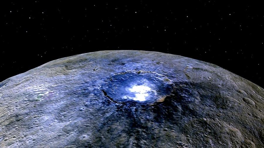 Puntos brillantes Ceres