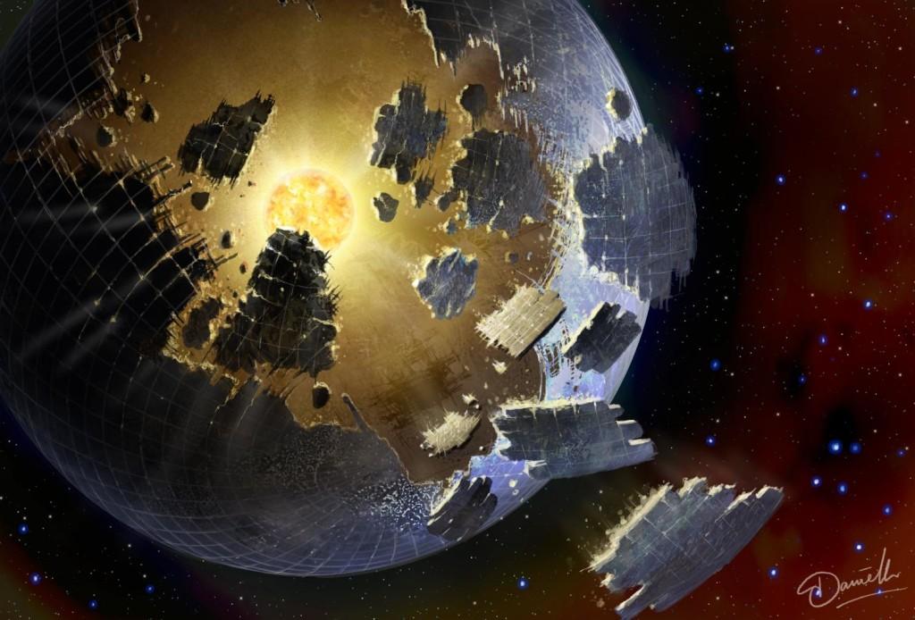 KIC 8462852 y esfera Dyson