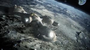 Base lunar 3D