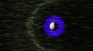 Plutón y los iones del viento solar