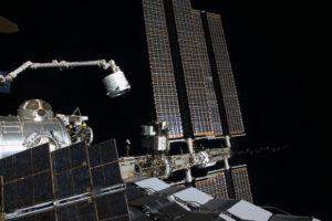 Imagen actualizada después de la instalación del BEAM. Creditos: NASA/Tim Kopra