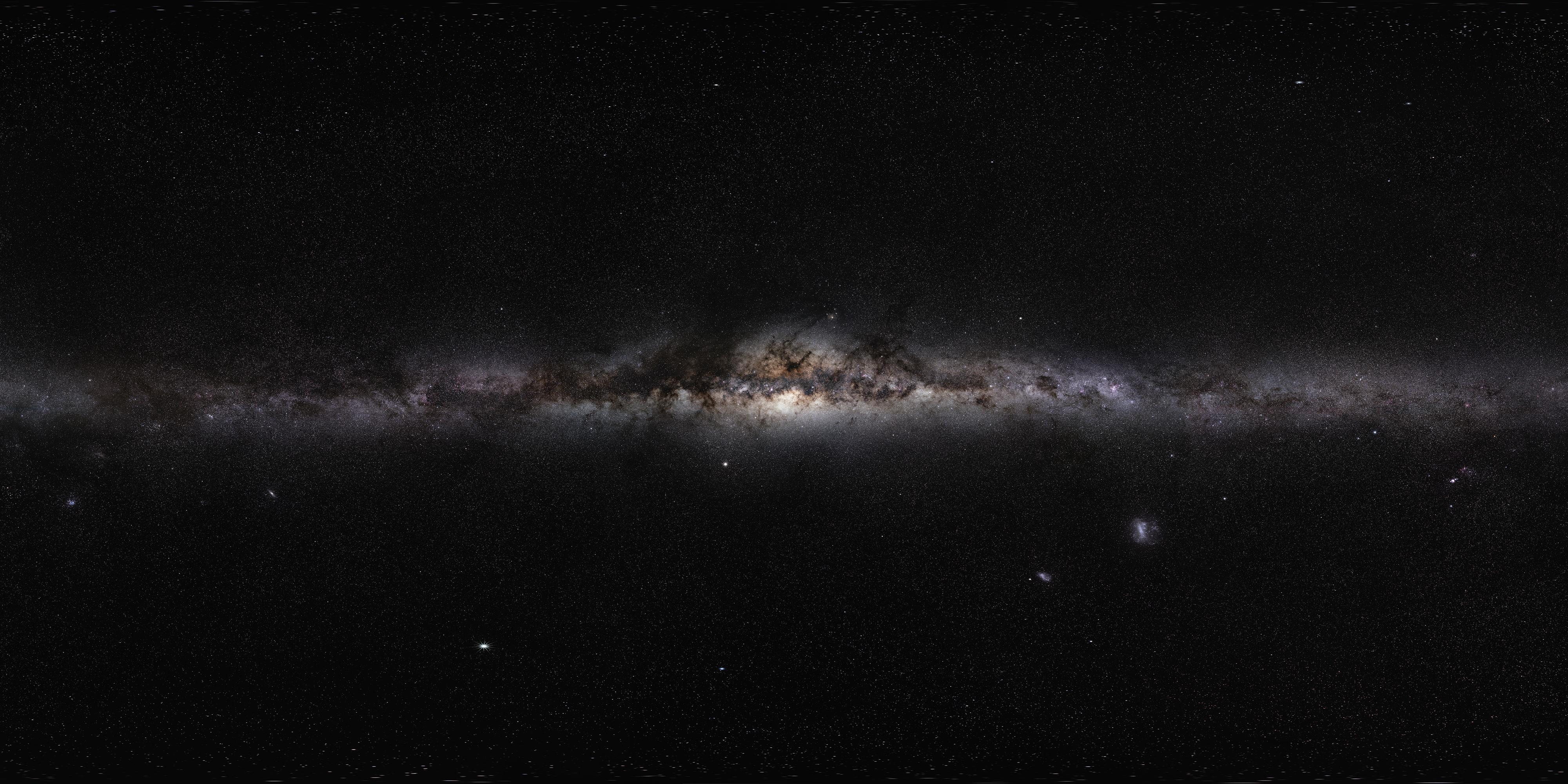 Panorama Vía Láctea