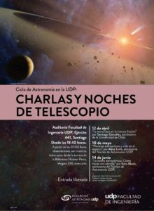 Charlas y noches de telescopio UDP